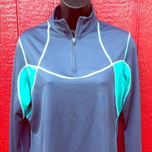 Patagonia all weather 3/4 zip neck pullover large